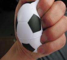 "2.25""  PU foam material  football stress ball,pu football squeeze ball ,pu soccer ball free shipping"