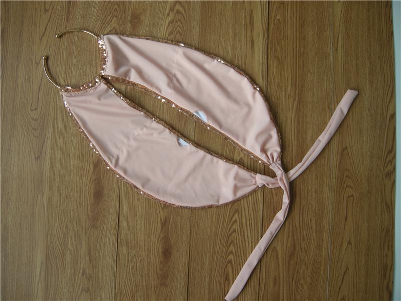 Sexy Bikini Bandage Swimwear Women Bling Sequin Bikinis Set Solid Swimsuit Bathing Biquini Maillot De Bain Tankini BJ282 15
