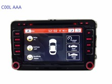 vw car radio DVD rns 510 VW golf 4 golf 5 6 touran passat B6 sharan jetta caddy transporter t5 polo tiguan with gpscard(China)