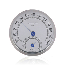 Sauna Room Stainless Steel Case Hyprometer Thermometer -20 C to 100 C Outdoor