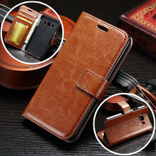 2017 Luxury Retro PU Leather Flip Case For Samsung Galaxy J1 J100 J100F SM-J100f Wallet Cover Card Holder Stand CellPhone Pouch