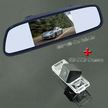"170 wide angle car reversing  camera +4.3"" car parking monitor adapt for  Nissan Qashqai"