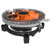 2016 hot sale fashion new CPU Cooling Cooler Fan Heatsink 7 Blade For Intel LGA 775 1155 1156 AMD 754 AM2 very nice(China)