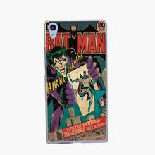 398-GOP Dc Comics Batman Joker batman comic book covers BAT MAN Transparent Hard Case Cover for Huawei P6 P7 P8 P8 lite