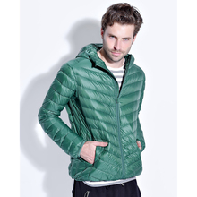 2017 new Arrival Men Fall/Winter White Duck Down Jacket 9 Colors Ultra Light Fashion Travel Pocketable Portable Wram Coats Outer