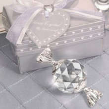 FREE SHIPPING+Baby Shower Favors Choice Collection Crystal Candy Baby Birthday Gift Favor Infant Baptism Gift