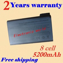 JIGU Cheap laptop battery for Dell Inspiron 4100 4150 8000 8100 8200 Latitude C500 C510 C540 C600 C610 C640 C800 C810 C840 CP