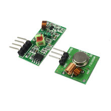 RF Wireless Receiver Module & Transmitter Module Board Super Regeneration 315/433MHZ DC5V (ASK /OOK)(China)