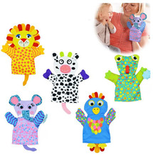 New Arrival Baby Cartoon Bath Gloves Children Bath Rub Cuozao Towel Lion frog elephant cows chick Animal dezign(China)