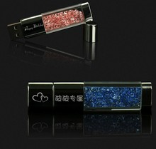 Custom LOGO  Pen drive diamond usb flash drive 4gb 8gb 16gb 32gb usb memory stick metal pendrive colourful flash card usb key