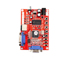 New GBS-8100 VGA Video Converter Board HD High-resolution VGA to RGB S / AV / CGA / S Terminal Adapter for all kinds of Games(China)