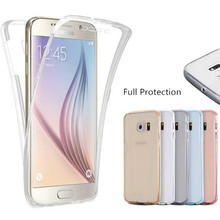 Full body 360 Degree Coverage Cover Case For Samsung Galaxy J1 J3 J5 J7 2015 2016 J1 Mini Ace S3 S4 S5 S6 S7 edge Plus