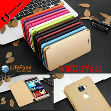 Luxury Flip cover PU leather case For LeEco Le S3 X522 Letv X622 X626 mobile phone book style protective Shell MC03(China)