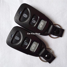 Keyless Entry Fob 3 Button Remote Key Case For Kia Carens Remote Transmitter Shell Case