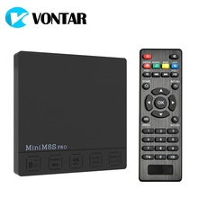 DDR3 2G 16G Android 7.1 TV Box Amlogic S912 Octa Core 2.4G/5G Dual Wifi H.265 VP10 HDR10 VONTAR Mini M8S PRO Set Top Box(China)