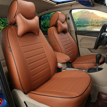 Faux leather seat cover for Volkswagen VW EOS car seat covers for cars Custom fit cover seat car cushion airbag compatible sets