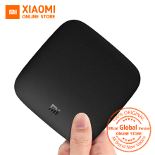 Global Version Xiaomi Mi Box 3 Android TV Box 4K 60fps Amlogic Quad core Xiaomi Mi Tv Box 3 Cortex-A53 Mali-450 2GB 2.4/ 5G WIFI