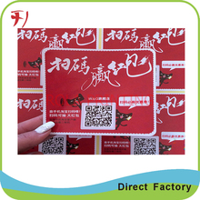 Customized self adhesive labels to specification,roll safety warning printing adhesive security stickers(China)