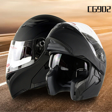 Motorcycle racing helmet dual lens coaster ride winter warm electric car safety helmet CG902(China)
