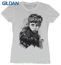 Fashion Brand Funny T Shirt The Breakfast Club Girls Juniors T-shirt - The Brain Artistic Sketch Image
