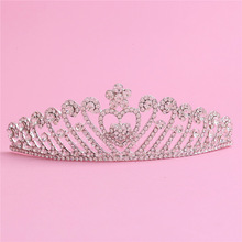Crown Europe and rhinestone wedding accessories bridal tiara bridal hair accessories bridal jewelry factory direct