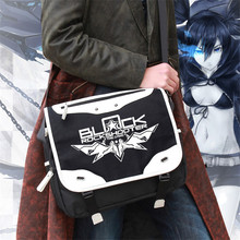 Fashion Black Rock Shooter Crossbody Bag Men Messenger Bags Oxford Multifunctional Men Travel Shoulder Bags Free Shipping