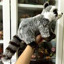Children's Toy Raccoon Doll  Simulation Plush Animals Cute Stuffed Toys Shops