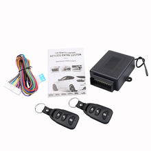 433.92MHz Alarm Systems Car Auto Remote Central Kit Door Lock Locking Vehicle Keyless Entry System New With Remote Controllers