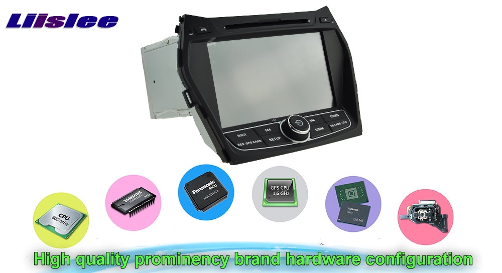 For Hyundai ix45 Santa Fe Grand SantaFe DM 2012~2017 Car Multimedia TV DVD GPS Radio Original Style Navigation Android Navi (2)
