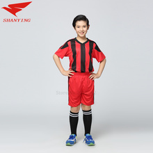 maillot de football tracksuit soccer jerseys 2016 2017 survetement training kids clothes boys summer sets children clothing