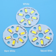 10pcs SMD5730 LED PCB 2W 3W 20mm 23mm 32mm 40mm 44mm White / Natural White / Warm White Light Source  for Led Bulb