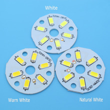 10pcs SMD5730 LED PCB 2W 3W 20mm 23mm 32mm 40mm 44mm White / Natural White / Warm White Light Source for Led Bulb(China)