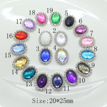 New! 10pcs/Set Many Colors Olva Rhinestone Buttons Crystal Craft Wedding Garment  Hair Accessories free shipping Factory