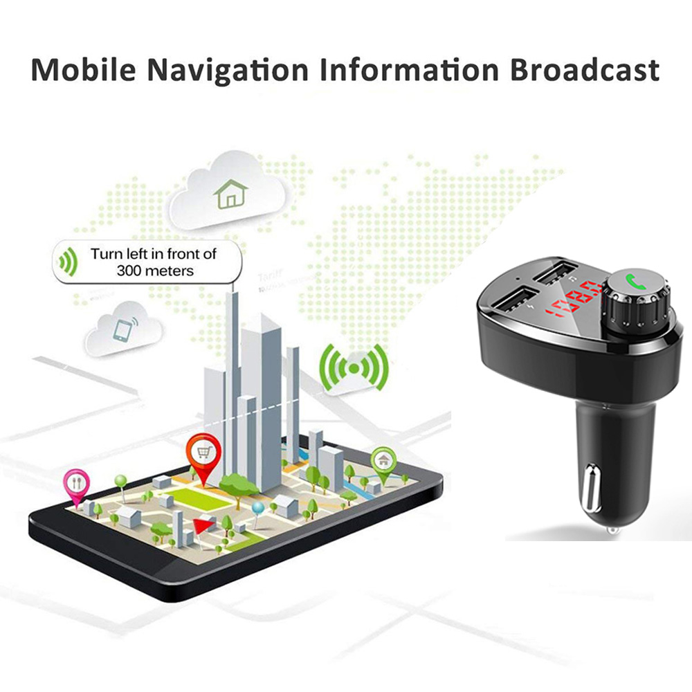 E0146 G13 Bluetooth Car Kit FM Modulator (4)