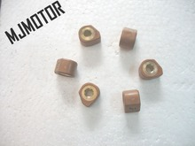 High Performance Variator Slider Copper Rollers For Chinese GY6 150cc Scooter QJ Honda yamaha QJ Keeway suzuki atv part(China)