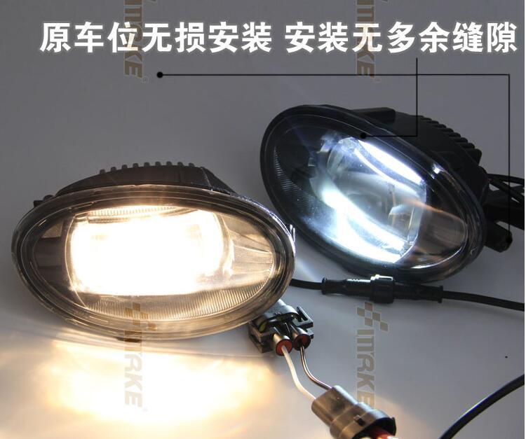 Osmrk 20W Gree chips led drl daytime running light + led fog lamp for Honda fit, for Honda CR-V<br><br>Aliexpress