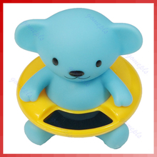 Cute Bear Bath Tub Baby Infant Thermometer Water Temperature Tester Toy New(China)