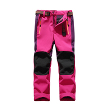 THE ARCTIC LIGHT Ski pants hiking camping boy girl waterproof breathable soft shell thick pants the latest high quality(China)