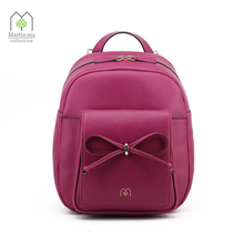 MARTIN MA Brand Women Backpack Solid Gilr's School Shoulder Bag Totes Bags Ladies Daypack Genuine Leather New Waterproof Design