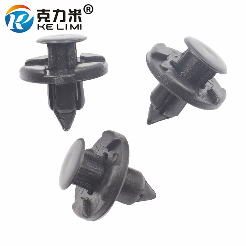 50Pcs Car Bumper Fender Nylon Rivet Retainer Fastener Clips for Nissan Infiniti