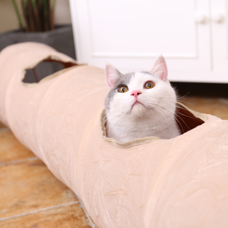 luxury cat tunnel Luxury Cat Tunnel-Suede Material,Soft And Durable-Free Shipping HTB1QZtpeILJ8KJjy0Fnq6AFDpXab
