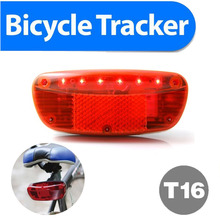 Bike GPS Tracker Device Hidden Locator Chipset Inside Brake Light Waterproof 120 Days Long Battery Life FREE Tracking Software(China)