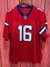 EJ The Replacements Movie Shane Falco #16 American Football Jersey All stitched Red(China)