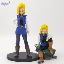 Dragon Ball Z Figure Android 18 lazuli DXF Super Saiyan Action Figure SCultures Dragon Ball Super lazuli Collection Doll Gift