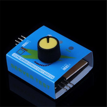 Servo Tester Third Gear Switch With Indicator Light 4.2V To 6.0v For Rc Models