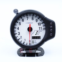 "New Auto Car 4.7"" Tachometer Water Temp Oil Pressure Apexi 3-in-1 Tacho Meter Auto Gauge(China)"