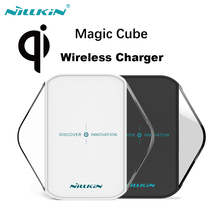 Original NILLKIN MagicCube qi wireless charger For Samsung/Nokia/Nexus/HTC Qi standard mobile digital devices wireless charger(China)