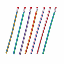5PCS/lot Soft Pencil Colorful Magic Flexible Bendy Soft Pencil for Kids Student School Office Use