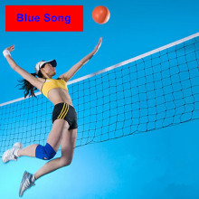 High Quality Universal style 9.5mx1m volleyball net polyethylene non-absorbent material anti - aging Beach Volleyball Net(China)
