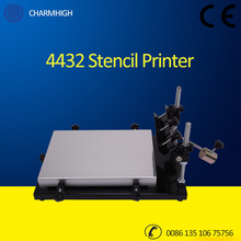 Charmhigh 4432 Manually Stencil Printer for SMT Production Line, Solder paste printer, Pick and Place Machine Best quality!